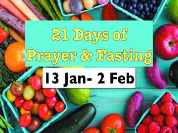 21 Days of Prayers & Fasting
